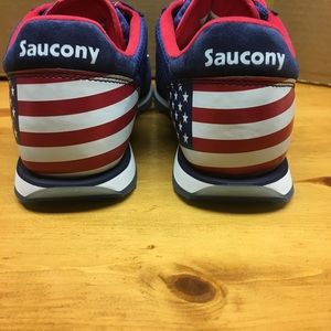 cd6f23ea0af Saucony Jazz Low Pro S70427-2 Stars and Stripes 12 NWT